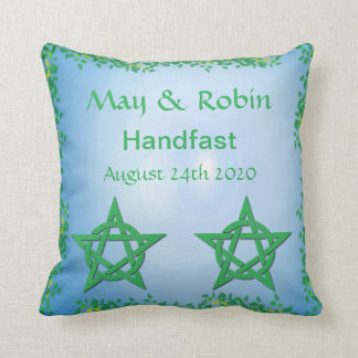 Leafy Glade Pillow Handfasting Gift for Pagans