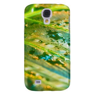 leafy green galaxy s4 case