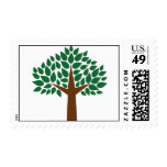 Leafy Green Tree Stamp