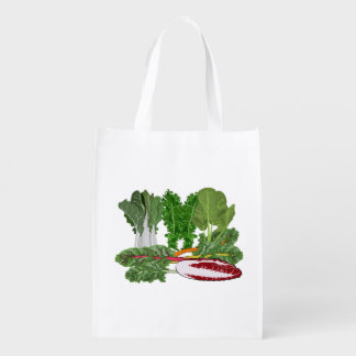 Leafy Green Vegetables Reusable Grocery Bag