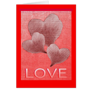 Leafy Love Greeting / Note Card