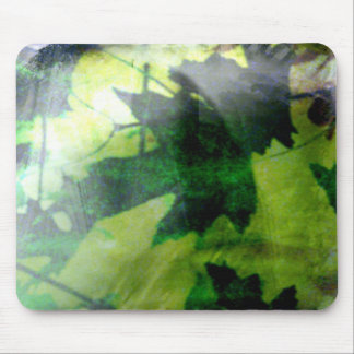 Leafy Mouse Pad