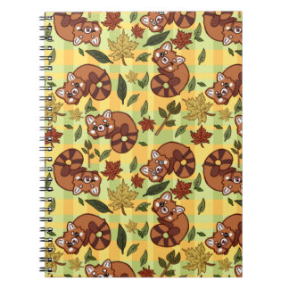 Leafy Red panda Notebook