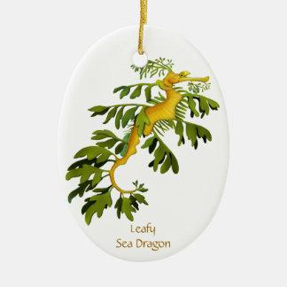 Leafy Sea Dragon Customizable Ornament