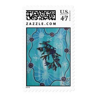 Leafy Sea Dragon Postage Stamp