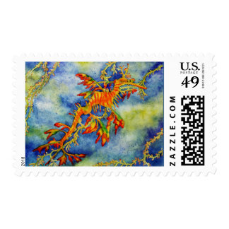 Leafy Sea Dragon Stamps
