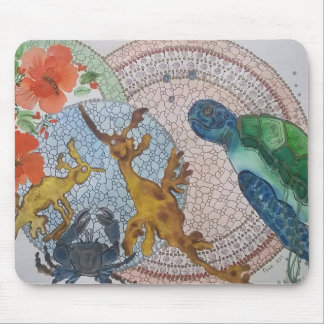 Leafy seadragons mouse pad