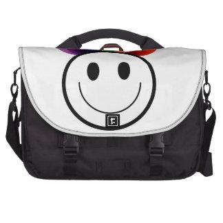 Leafy Smiley Commuter Bag