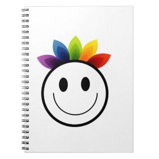 Leafy Smiley Notebooks