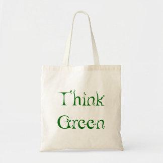Leafy Think Green Bag