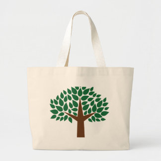 Leafy Tree Tote Bags