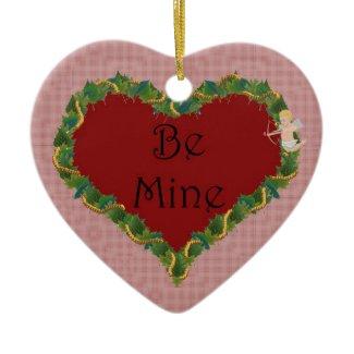 Leafy Valentine Ornament ornament