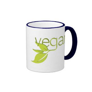 Leafy Vegan Coffee Mugs