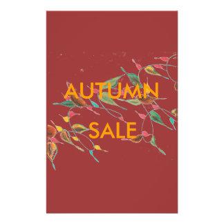 Leafy Vine Autumn Sale Flyer