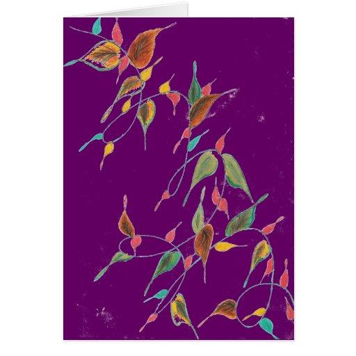 Leafy Vine Card