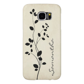 Leafy Vine Design Galaxy S6 Case