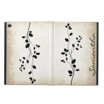 Leafy Vine Design iPad Air Case
