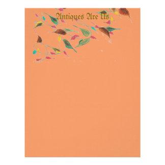Leafy Vine Letterhead
