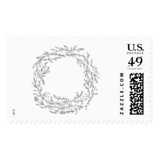 Leafy Vine postage