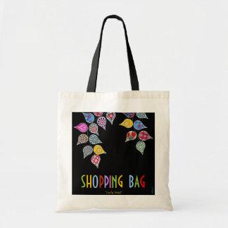 Leafy Vivid Tote Bag