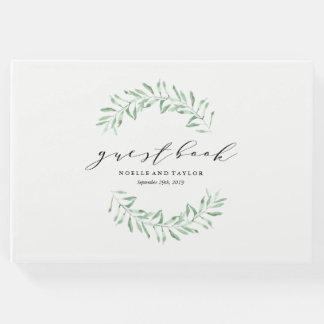 Leafy Wedding Guest Book