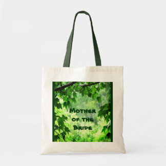 Leafy Wedding Mother of the Bride Tote Bag