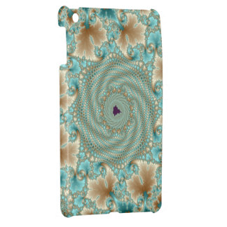 Leafy Whorls Fractal Cover For The iPad Mini