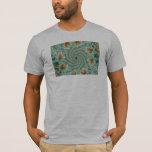 Leafy Whorls Fractal T-Shirt