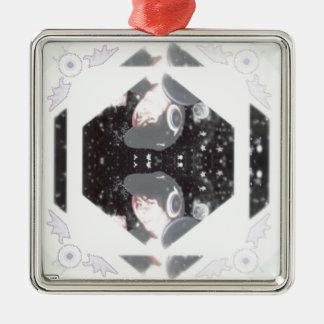 Leafyishere Metal Ornament