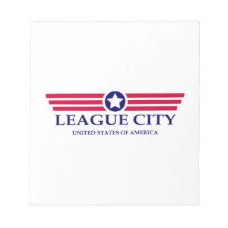 League City Pride Scratch Pads