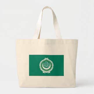 League of Arab States Flag Large Tote Bag