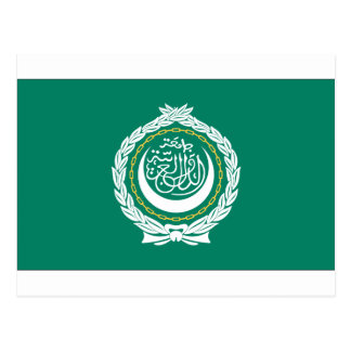 League of Arab States Flag Postcard