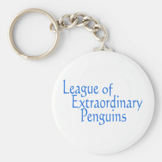 League of Extraordinary Penguins 3 Key Chain