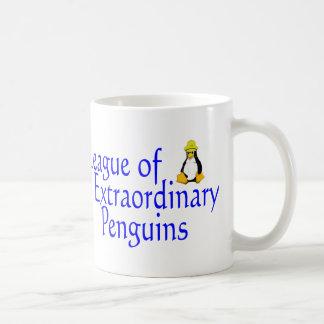 League of Extraordinary Penguins 4 Mug