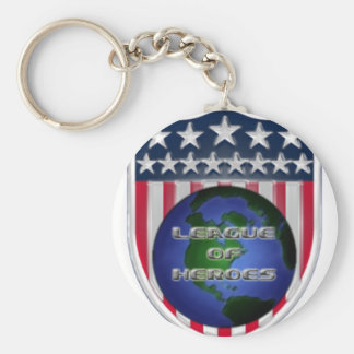 League of Heroes Keychains