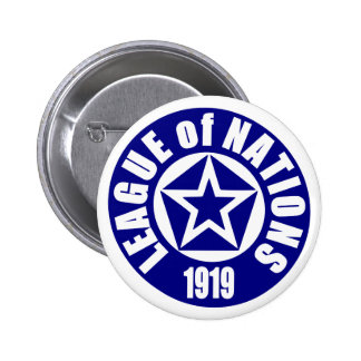 League of Nations Pinback Button