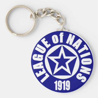 League of Nations Keychain