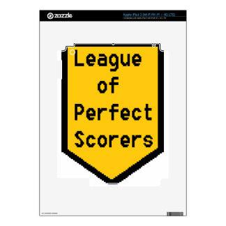 League of Perfect Scorers (LPS) iPad 3 Decals