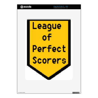 League of Perfect Scorers (LPS) iPad Decal
