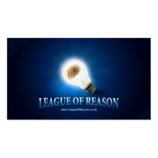 League of Reason -- Business Cards