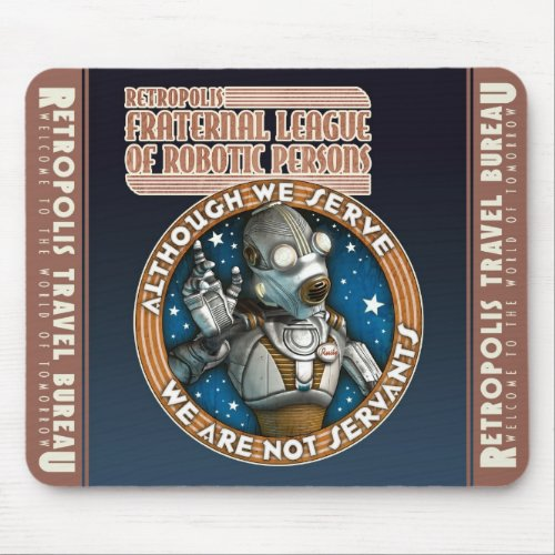 League of Robotic Persons Mouse Pad