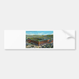 League Park Baseball Stadium Bumper Sticker