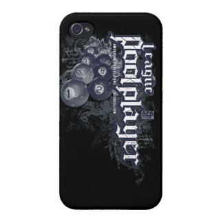 League Pool Player Cases For iPhone 4