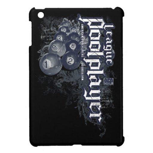 League Pool Player iPad Mini Covers