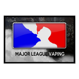 League Vaping Poster
