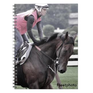 Leah Gyarmati Workouts at Saratoga Notebook