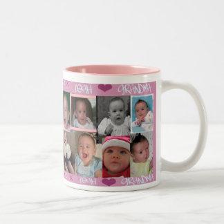 Leah Loves Grandma Mug
