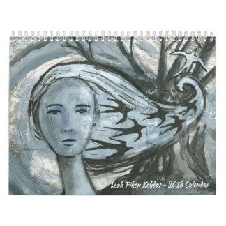 Leah Piken Kolidas 2018 Calendar