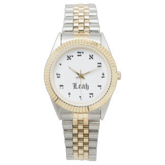 Leah Time Wrist Watches