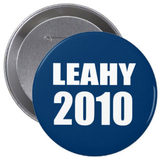 LEAHY 2010 PINBACK BUTTON